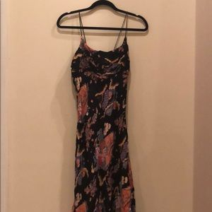 Beautiful Angie Floral Summer Midi Dress Size S